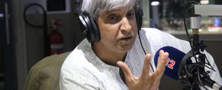 Wits University vice-chancellor Adam Habib. Picture: Radio 702.
