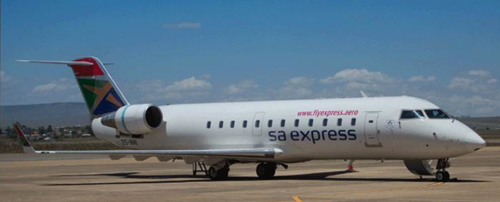 A general view of an SA Express plane. Picture: SA Express