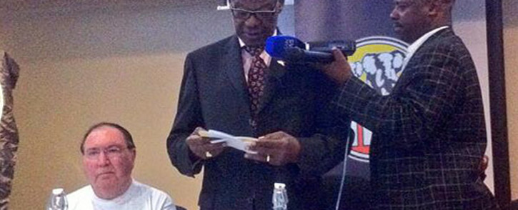 Mangosuthu Buthelezi says the IFP is a party of action rather than just words. Picture: Mia Spies/EWN.