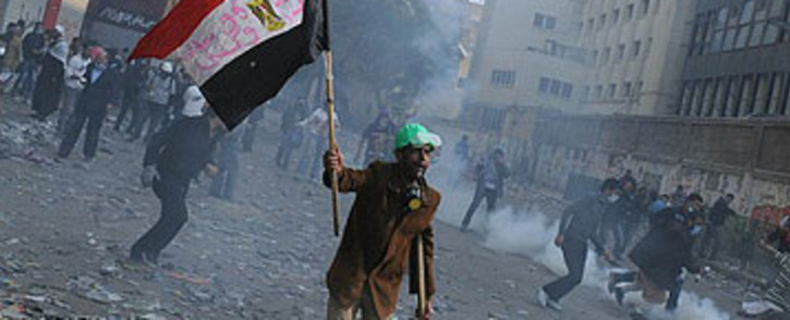 FILE: Clashes in Egypt. Picture: AFP