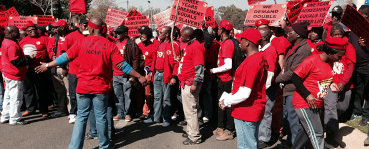 FILE: Toyota and General Motors have suspended production at its lines as a result of the Numsa strike. Picture: Sebabatso Mosamo/EWN.