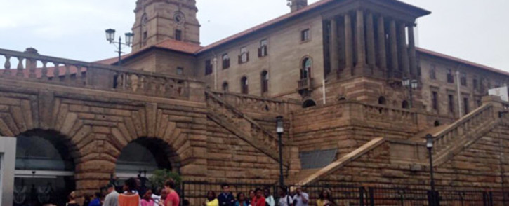 Mourners have gathered to sign special condolence books for Nelson Mandela at the Union Buildings in Pretoria on 6 December 2013. Picture: Lesego Ngobeni/EWN.