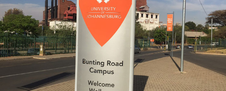 FILE: University of Johannesburg Bunting Road campus. Picture: EWN