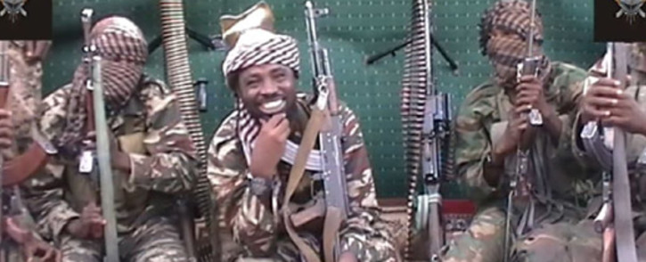 A screengrab taken on 25 September, 2013, from a video distributed through an intermediary to local reporters and seen by AFP, shows a man claiming to be the leader of Nigerian Islamist extremist group Boko Haram Abubakar Shekau. Picture: AFP.