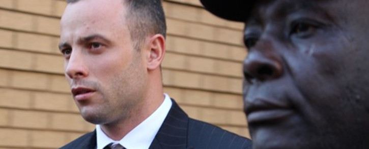 Oscar Pistorius leaves the High Court in Pretoria on 9 May 2014 after day 29 of his trial. Picture: Christa Eybers/EWN.