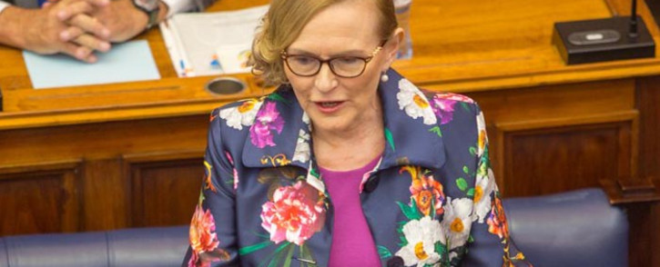 FILE: Western Cape Premier Helen Zille is set to deliver her last State of the Province Address in the legislature on 15 February. Picture: @WCProvParl/Twitter