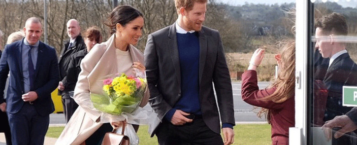 US actress and humanitarian Meghan Markle and Prince Harry. Picture: @KensingtonRoyal/Twitter