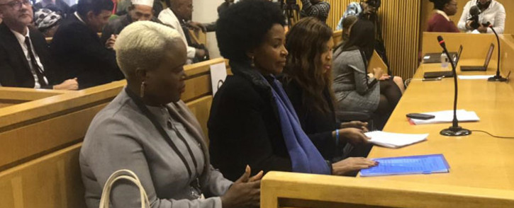 Rural Development and Land Reform Minister Maite Nkoana-Mashabane appears in the Western Cape High Court on 17 May 2019. Picture: Monique Mortlock/EWN