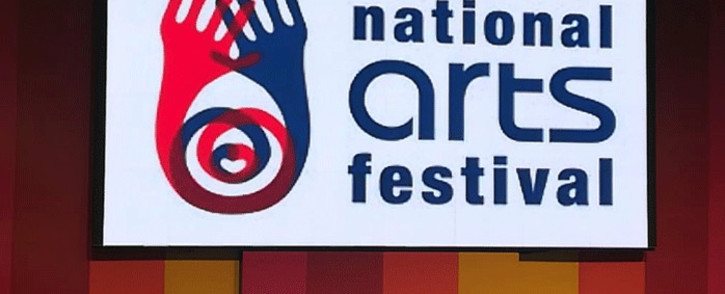 The National Arts Festival logo. Picture: Winnie Theletsane/EWN.