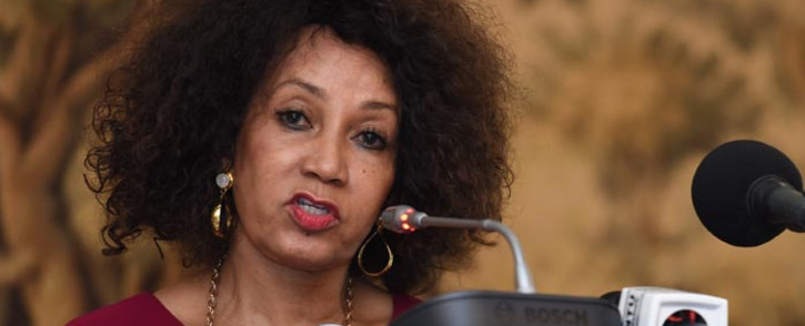 FILE:  Human Settlement Minister Lindiwe Sisulu. Picture: GCIS.