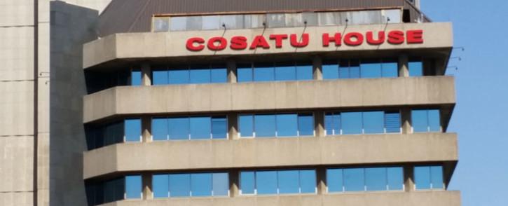 Cosatu house in Braamfontein, Johannesburg. Picture: Janice Healing/EWN.