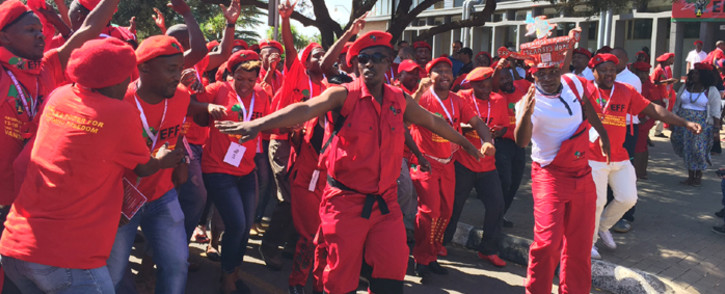 FILE. The EFF says it'll use Zuma's State Of The Nation Address debate to ask when he's paying back the money. Picture: Govan Whittles/EWN.