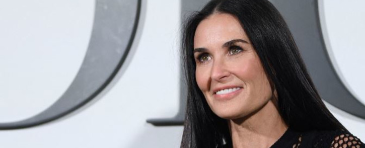 FILE: US actress Demi Moore poses during the photocall prior to a Dior fashion show in Paris, on 25 February 2020. Picture: Anne-Christine POUJOULAT/AFP