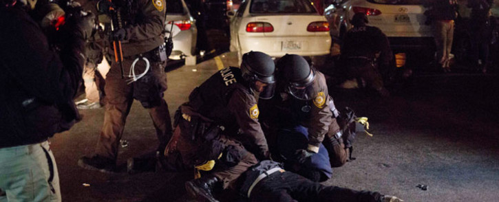 FILE: The shooting came 10 days after St. Louis was flooded with protesters marking the anniversary of the killing of unarmed black teenager Michael Brown. Picture: AFP.