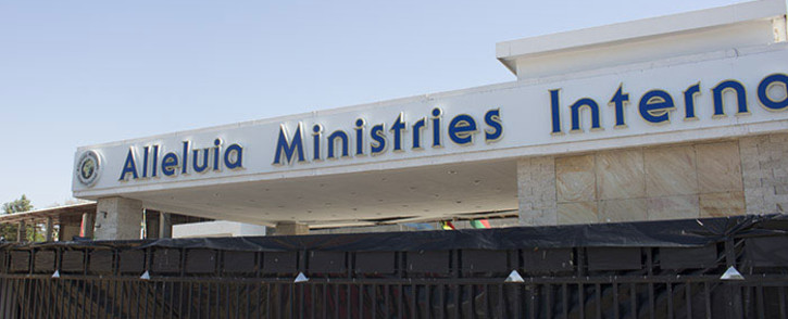 Representatives from the Alleluia Ministries International church in Lyndhurst say all their building plans are above board. Picture: Reinart Toerien/EWN.