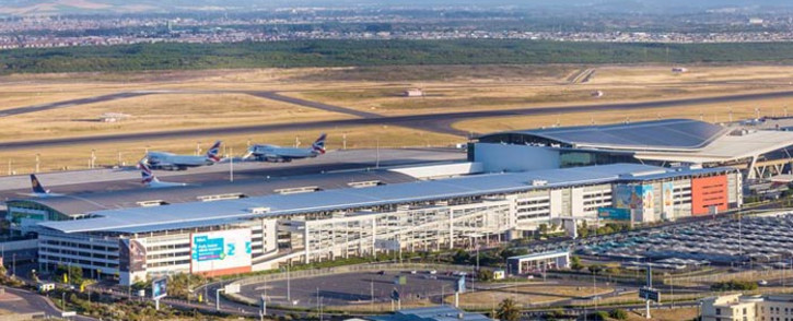 FILE: A general view of Cape Town International Airport. Picture: @WesternCapeGov/Twitter