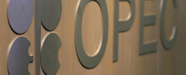 The logo of the Organization of the Petroleum Exporting Countries (Opec). Picture: AFP.