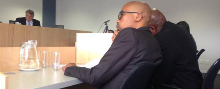 FILE: Tavern owner Phumlani Abraham at the liquor licensing tribunal hearing in Bellville on 21 September 2015. Picture: Rahima Essop/EWN.