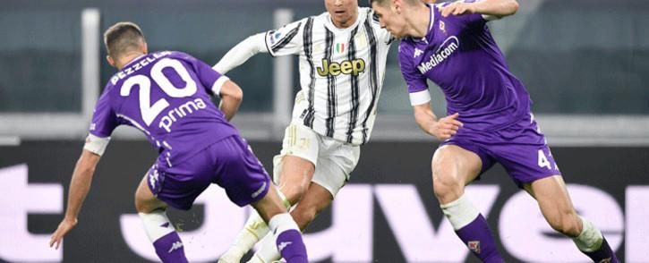 Juventus lost 3-0 to Fiorentina on 22 December 2020. Picture: @juventusfcen/Twitter.