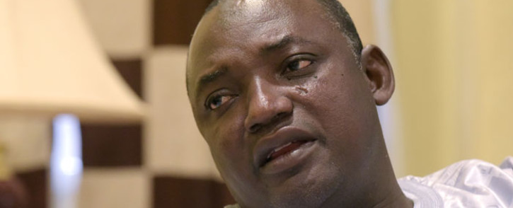 FILE: Gambian President Adama Barrow. Picture: AFP