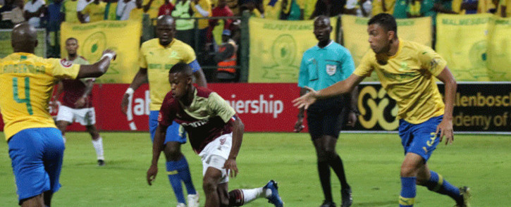 Mamelodi Sundowns bagged a 1-0 win against Stellenbosch FC on 11 March 2020. Picture: @StellenboschFC/Twitter.