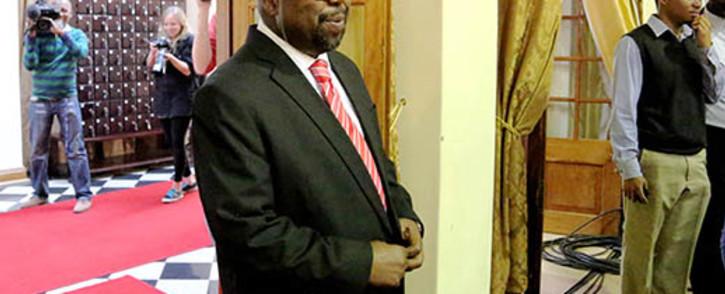 Public Works Minister Thulas Nxesi. Picture: EWN.