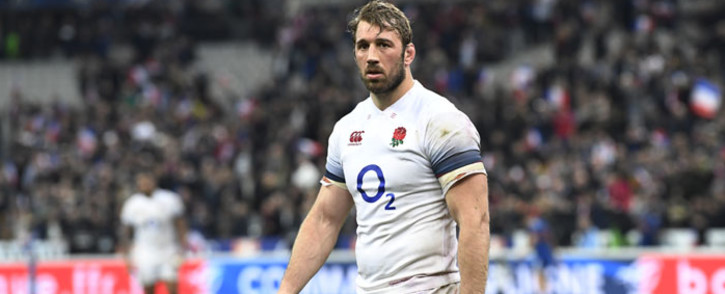 FILE: England's flanker Chris Robshaw reacts after losing the Six Nations international rugby union match between France and England at the Stade de France in Saint-Denis, north of Paris, on March 10, 2018. Picture: AFP