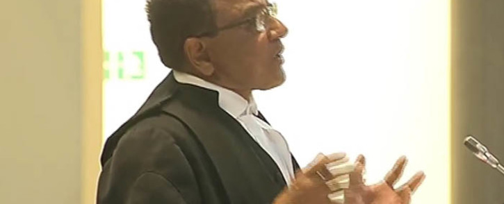 A screengrab of Sassa's advocate Nazeer Cassim addressing Constitutional Court judges. Picture: YouTube.