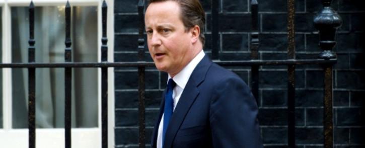 British Prime Minister David Cameron. Picture: AFP.