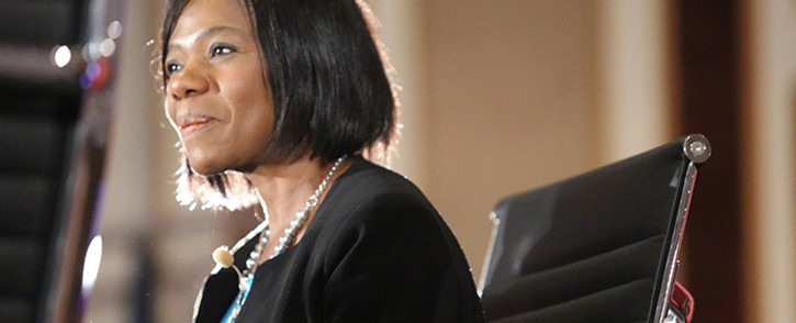 Public Protector Thuli Madonsela was part of a panel discussion on governance accountability and reputation management in Sandton on 23 June 2015. Picture: Reinart Toerien/EWN