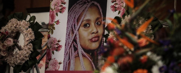 A memorial service for Kgothatso Mdunana was held at St Stithians College Chapel in Johannesburg on 10 June 2021. Picture: Abigail Javier/Eyewitness News
