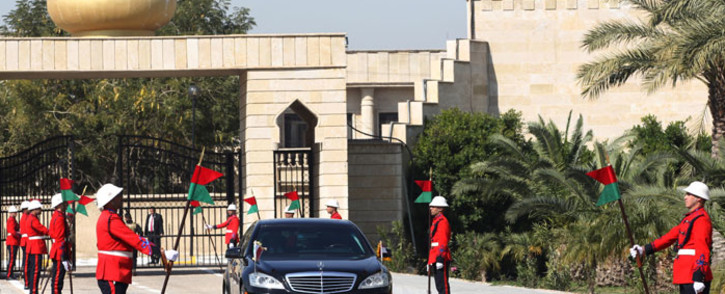 FILE: Iraqi honour guards at Salam Presidential Palace in Baghdad. Picture: AFP