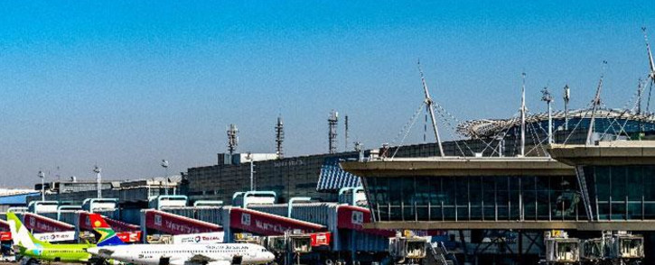 OR Tambo International Airport. Picture: @ortambo_int/Twitter