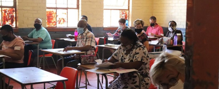 FILE: Matric 2020 exam paper markers. Picture: Department of Basic Education.