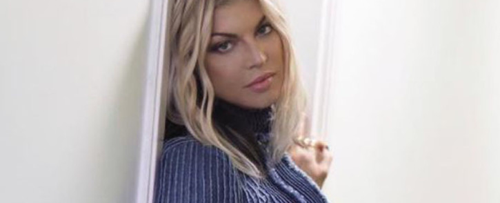 American singer Fergie: Picture: Instagram/@fergie