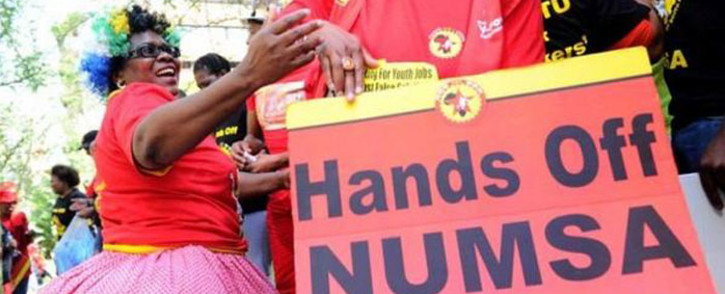 FILE: Numsa was voted out of Cosatu last month. Picture: Twitter via @Radio702.