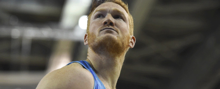 FILE: Britain's Greg Rutherford competes in the men's long jump at the Glasgow Indoor Grand Prix athletics competition at the Emirates Arena in Glasgow on 25 February 2018. Picture: AFP
