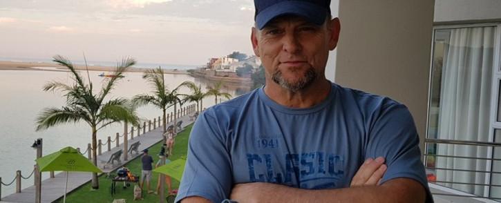Steve Hofmeyr. Picture: @stevehofmeyr/Twitter