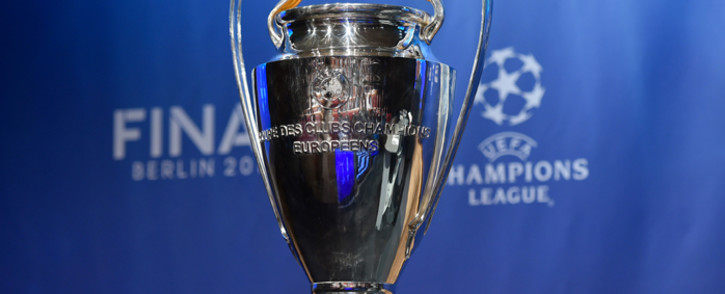FILE: The UEFA Champions League trophy. Picture: AFP
