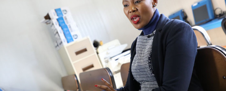 FILE: Communications Minister Stella Ndabeni-Abrahams. Picture: Abigail Javier/EWN