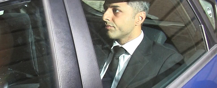 FILE: Shrien Dewani leaves the Western Cape High Court on 29 October 2014. Picture: Aletta Gardner/EWN