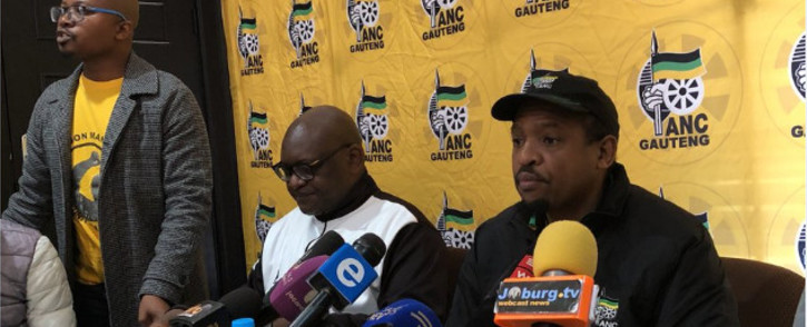FILE: The leadership of the ANC in Gauteng. Picture: EWN.