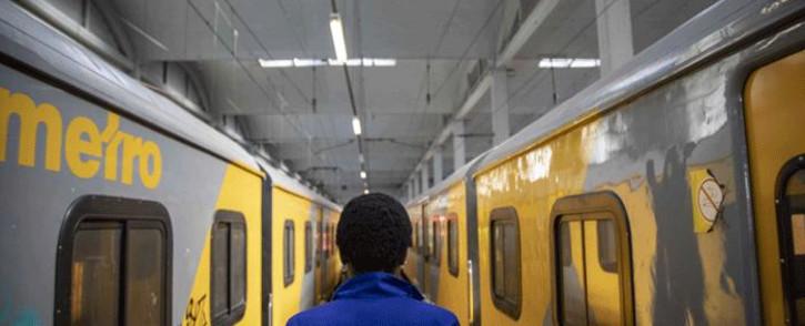 FILE: Metrorail trains. Picture: Thomas Holder/EWN