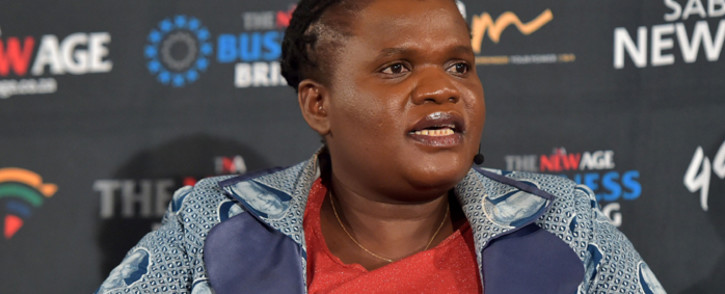 FILE: Communications Minister Faith Muthambi. Picture: GCIS.