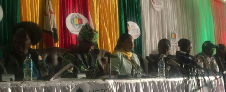 FILE: ZEC briefing on remaining constituency results. Picture: EWN