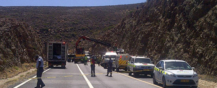 FILE: The crash took place this morning. Picture: EWN.