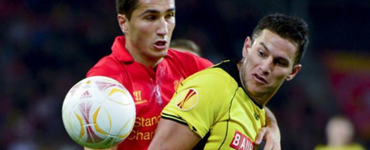 Liverpool's midfielder Nuri Sahin. Picture: AFP.
