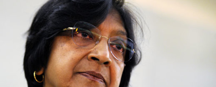 UN Commissioner for Human Rights Navi Pillay. Picture: AFP