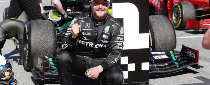 Mercedes F1 driver Valtteri Bottas. Picture: @ValtteriBottas/Twitter