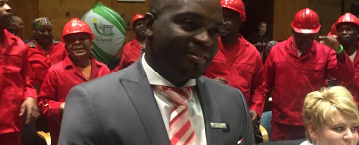 New Tshwane mayor Solly Msimanga. Picture: Kgothatso Mogale/EWN
